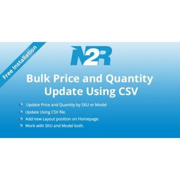 Bulk Price and Quantity Update