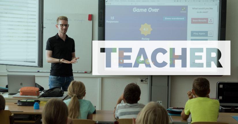 find a teacher